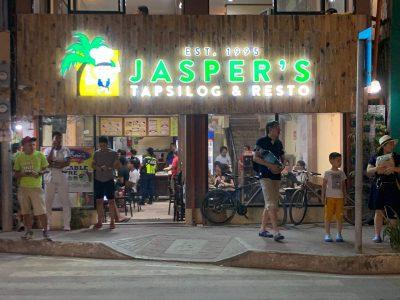 Jaspers Tapsilog Boracay