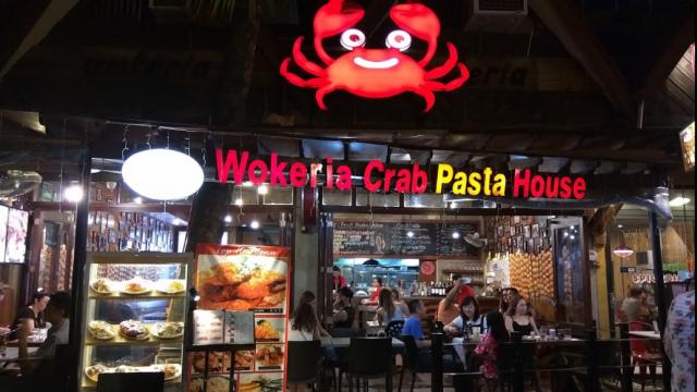 Wokeria: Red Crab Pasta House Boracay